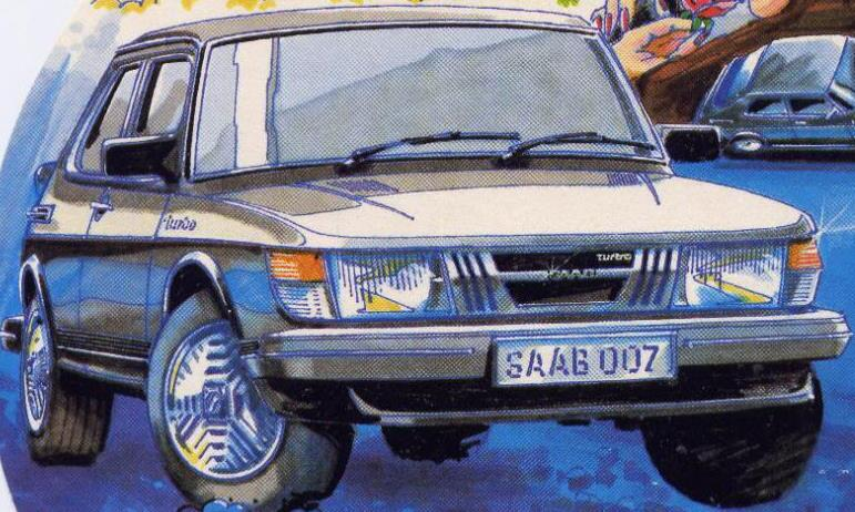 The Saab 900 Turbo Introduced In May Of 1978 Was Bond S Vehicle Choice Many John Gardner Novels Beginning With Licence Renewed 1981