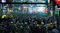 Толпа на Земле