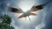 Great Leonopteryx blokkeerd de zon
