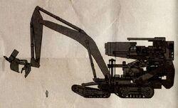 Режущая установка Лесорубная машина
