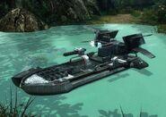 Речной патрульный катер Хищник игра