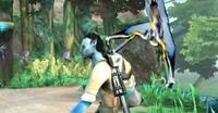 Пролемур похищает винтовку Райана