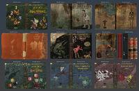 Обложки книг из Школы Грэйс эскизы