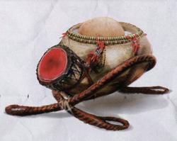 Тыквенный водяной барабан