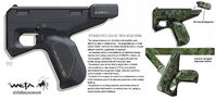 Табельный пистолет. Концепт-арт