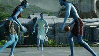 Джейк Салли Парк аватаров баскетбол