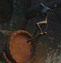 Древесный барабан