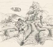 Геликорадиан. Рисунок Джеймса Кэмерона