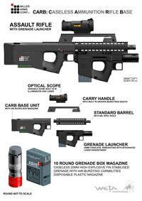 Штурмовая винтовка. Концепт-арт