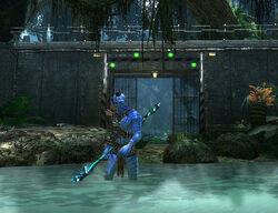 Автоматические ворота Голубая лагуна