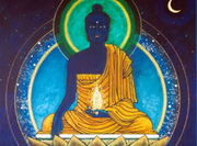 Buda azul