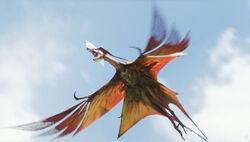 Great Leonopteryx van onder