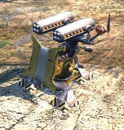 Автоматическая ракетная установка игра