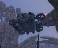 Мирный Дракон с банши на роторе