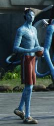 Аватар-баскетболист