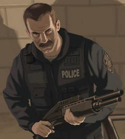 Police art