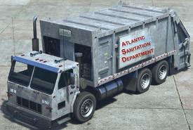 SH2 Garbage Truck