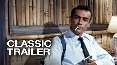 Dr. No Official Trailer 1 - Sean Connery Movie (1962) HD