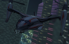 Dr. No's tiltrotor aircraft (GoldenEye - Rogue Agent)