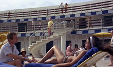 Goldfinger à la piscine de Miami