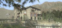 Mr White's estate (Quantum of Solace, game, PC) 1