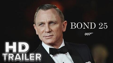 Video - Bond 25 - Teaser Trailer HD (2019 Movie) New James
