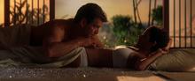 Jinx et Bond faisant l'amour