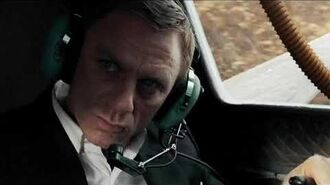 QUANTUM OF SOLACE 007 takes to the air
