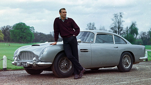 Image result for connery and aston martin db5