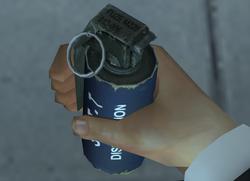 Flashbang grenade (Nightfire, PC)