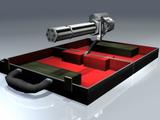 Briefcase turret