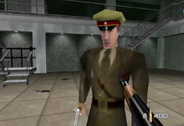General Ourumov in GoldenEye 007 (1997)