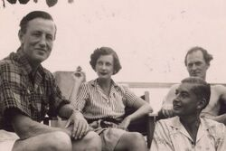 Ian Fleming and friends in Jamaica