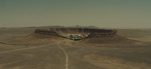 SPECTRE - Saharan crater facility exterior