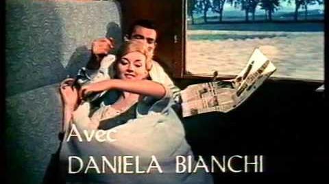 1963 - Bons baisers de Russie bande annonce vf