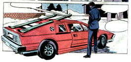Lotus Turbo Esprit (For Your Eyes Only, Marvel)