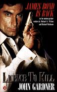 Licence to Kill paperback (Coronet Books)