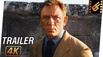 JAMES BOND 007 No Time to Die Trailer (2020) 4K Ultra HD Daniel Craig, Lea Seydoux, Rami Malek