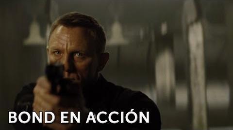 SPECTRE. James Bond 007. Bond en acción. En cines 6 de noviembre