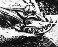Dragon Tank (Express Comic, John McLusky)