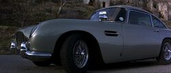 Goldeneye - The DB5 parked