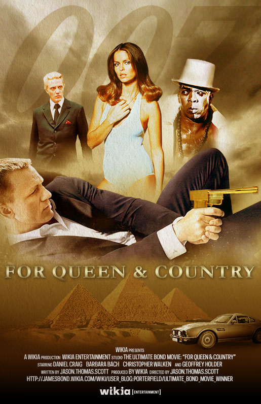User Blog Porterfield For Queen And Country Movie Poster