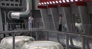 Scaramanga, Bond et la centrale