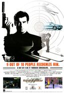 007 Tomorrow Never Dies promotional ad
