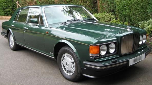 Bentley mulsanne 1985