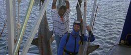Licence to Kill - Sharkey is killed by Krest's men