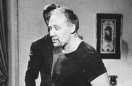 Lazenby breaks Yuri Borienko's nose