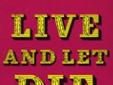 Live and Let Die (novel)
