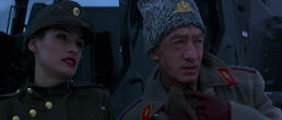 General Ourumov and Xenia (GoldenEye)