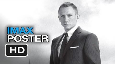Skyfall IMAX - Poster First Look (2012) James Bond Movie HD